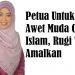 Petua Untuk Awet Muda Cara Islam